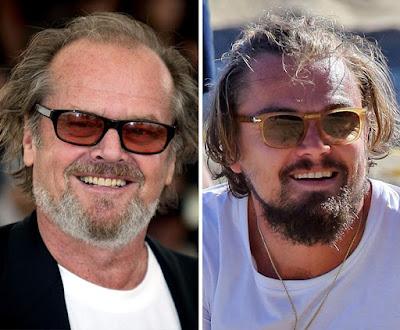 Jack Nicholson y Leonardo Dicaprio.