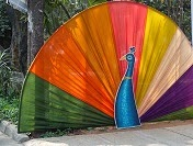 http://ranjana-craft-blog.blogspot.in/2015/01/peacock-design-in-colorful-cloth.html