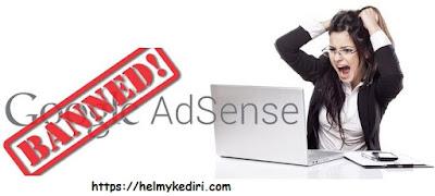 Bangkit setelah dibanned oleh google adsense