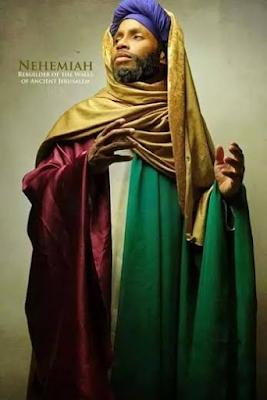 Neheniah Black Biblical characters