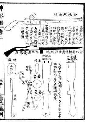 Ming Chinese Weather-proofed Matchlock Gun