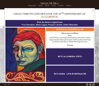 Lhasa De Sela Tribute Concerts for the 20th Anniversary of La LLorona, screenshot