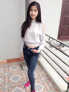 Gái xinh facebook hot girl Ngố Thư