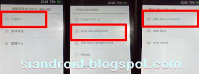 cara recovery mode OPPO bootloop