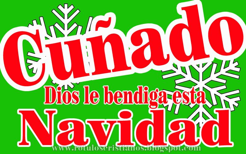 Feliz Navidad Rotulos.Tarjeta Cristiana De Navidad Para Cunado Rotulos Cristianos