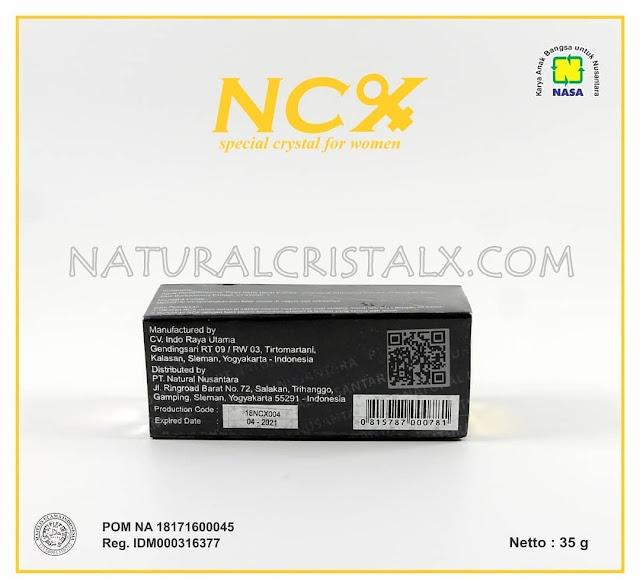 ncx crystal keputihan POM NA 18171600045