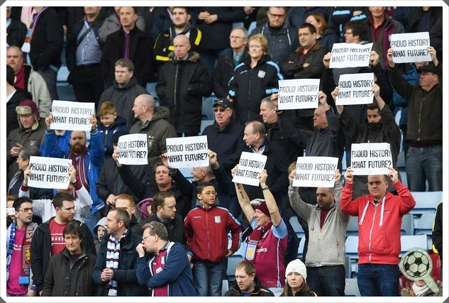 Aston Villa Protests