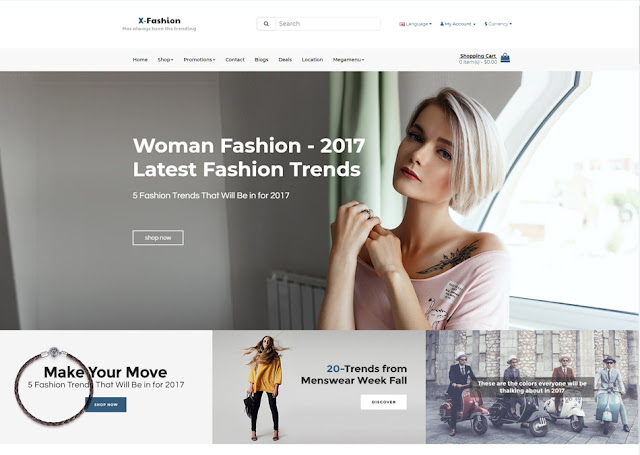 Pav Fashion Opencart 3 Theme Download