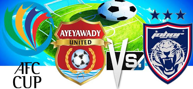 ayeyawady vs jdt 27 april, keputusan afc 27 april 2016, jdt football club