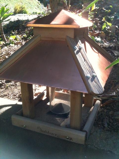 Heygreenie Audubon Coppertop Gazebo Bird Feeder Sold