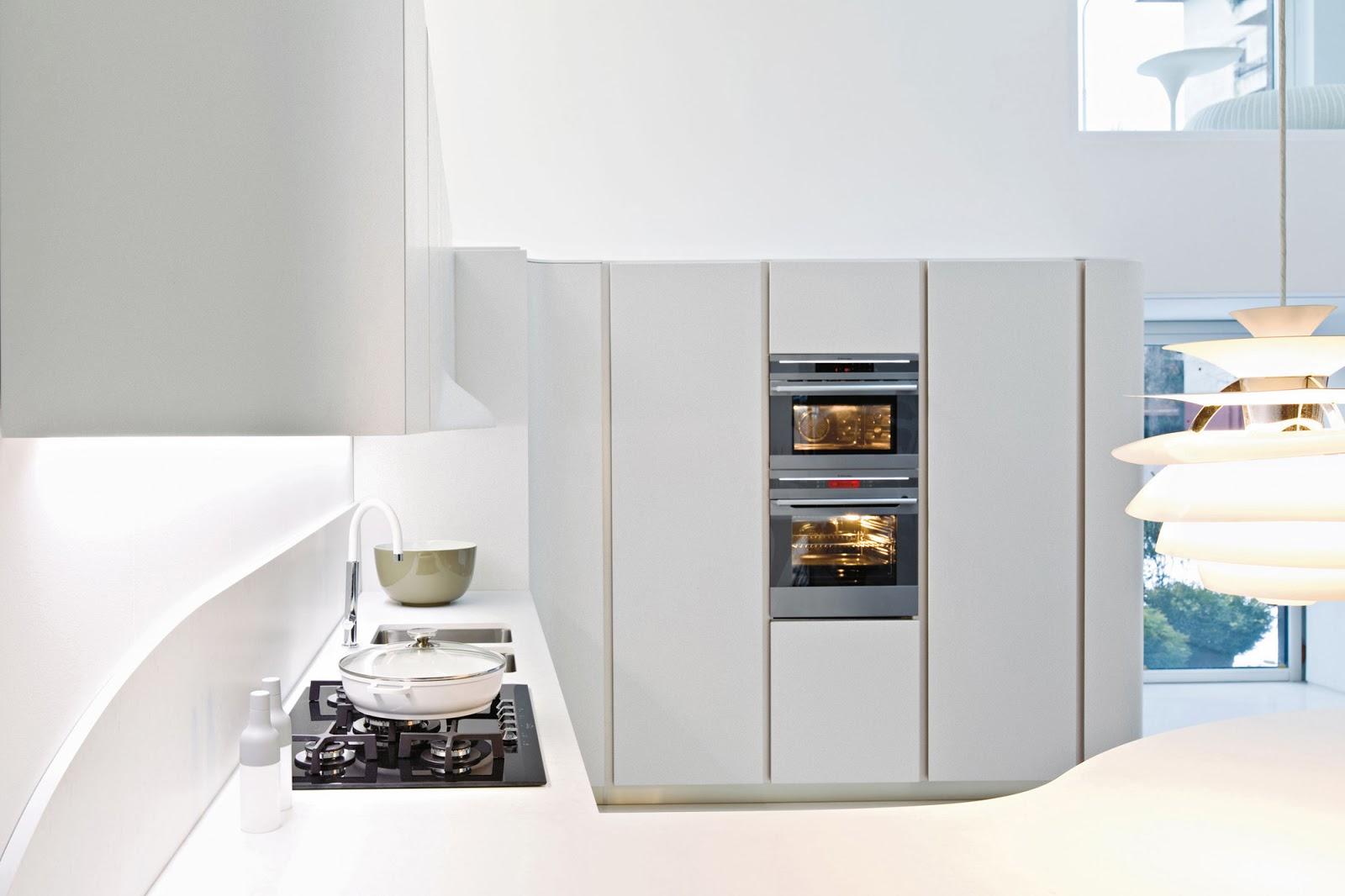 In Una Cucina Moderna E Di Alto Livellonon Poteva Mancare La Luce  #65472D 1600 1066 Isole E Carrelli Di Cucina