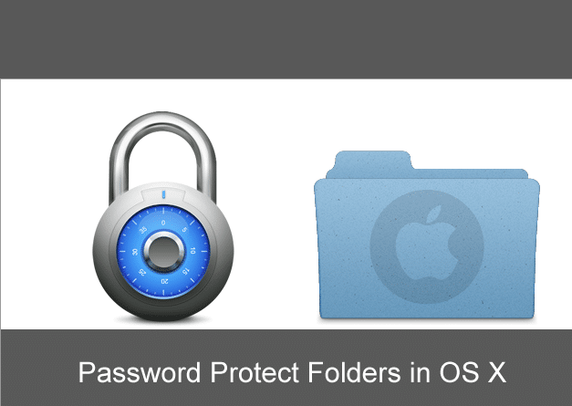 How To Password Protect A Folder In Mac