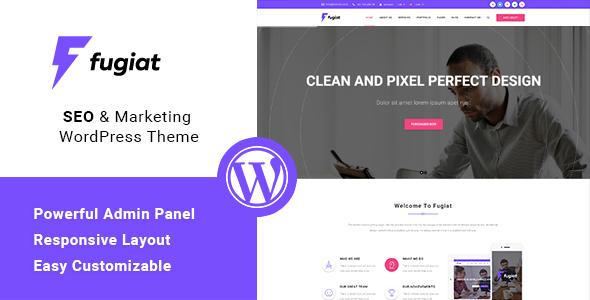 Fugiat - Seo & Online Marketing WordPress Theme