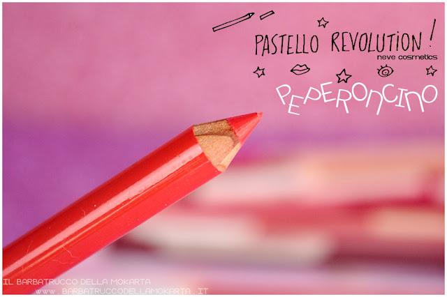 peperoncino BioPastello labbra Neve Cosmetics  pastello revolution