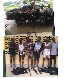 Criminals claiming SARS & Police Officers got arrested in Rivers State.