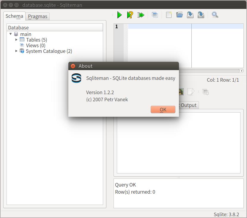 不專業網管筆記: SQLite GUI tools in Ubuntu