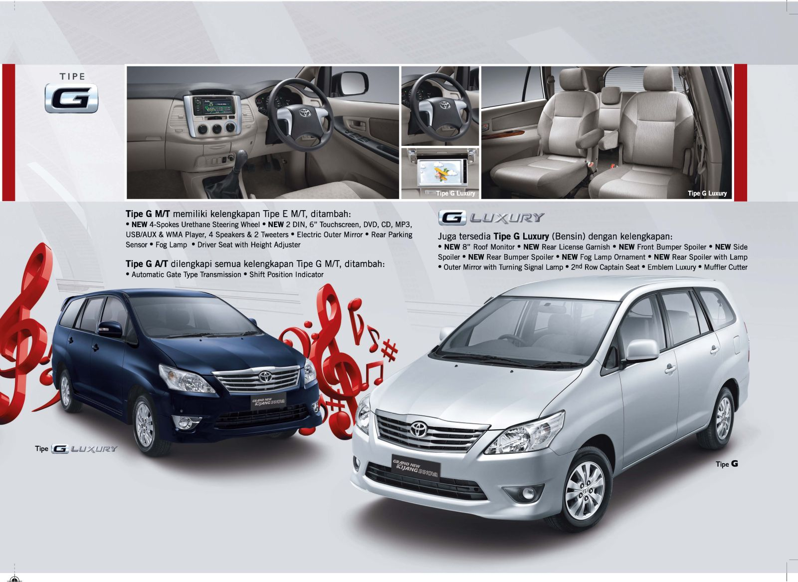 Grand New Avanza Tipe E Abs Dashboard Brosur Kijang Innova Pesta Diskon Toyota