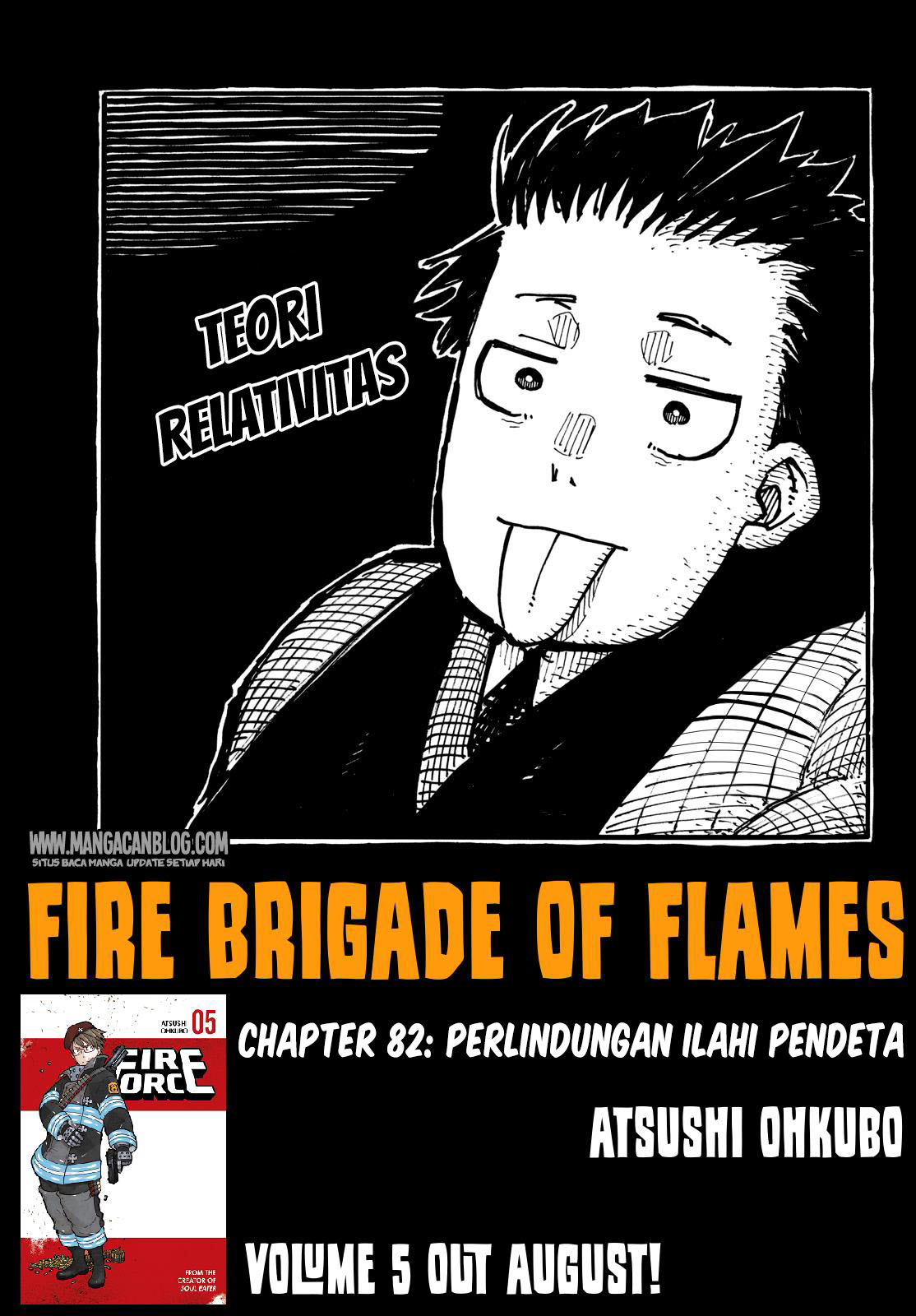 Fire Brigade of Flames Chapter 82-1
