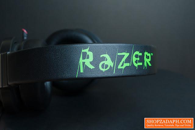razer kraken 7.1 chroma lazada - headband razer logo