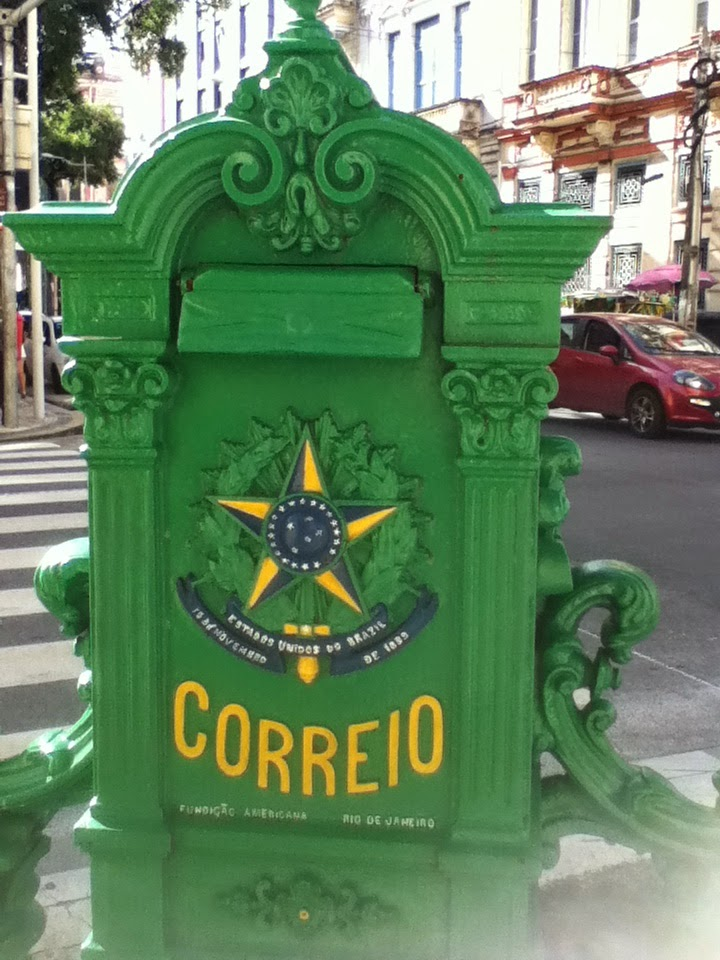 Brazilian Post Box