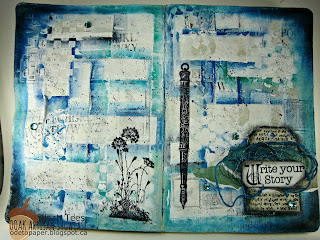 OOAK Artisans Leah Tees Art Journal
