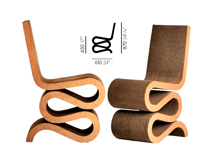 my magical attic wiggle chair design by frank o gehry