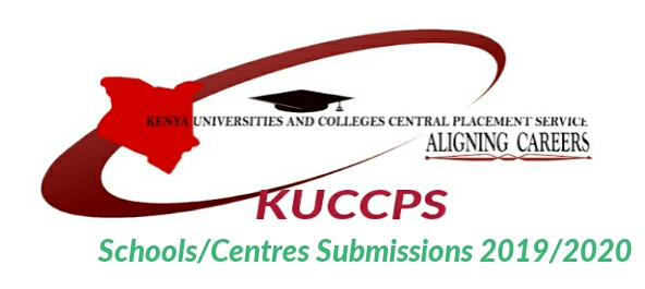School principals submissions to kuccps 2019/2020