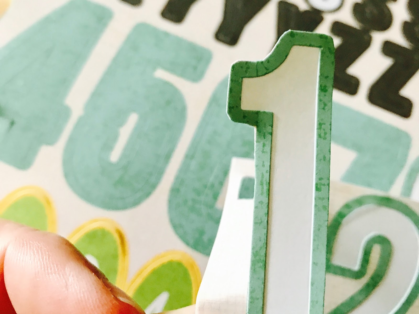 #recycle #number #letter #stickers #scrapbooking #iloveitallshop