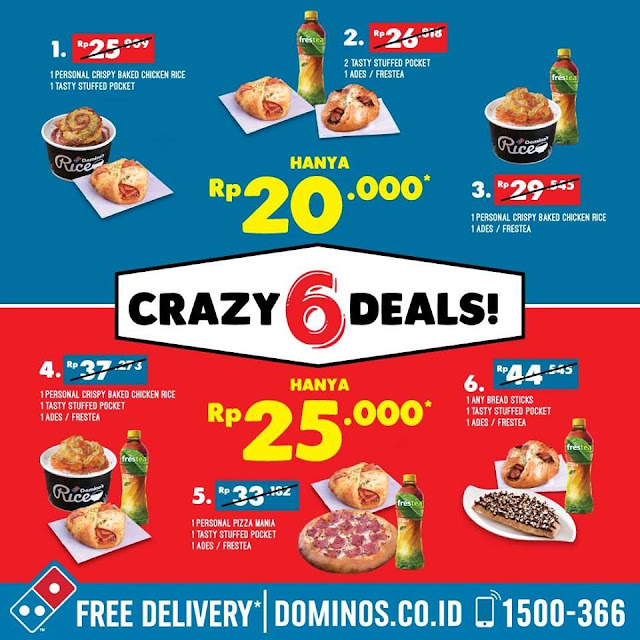 CRAZY 6 DEALS! Makan Puas Harga Ganas |Tag your Friends & ENJOY NOW