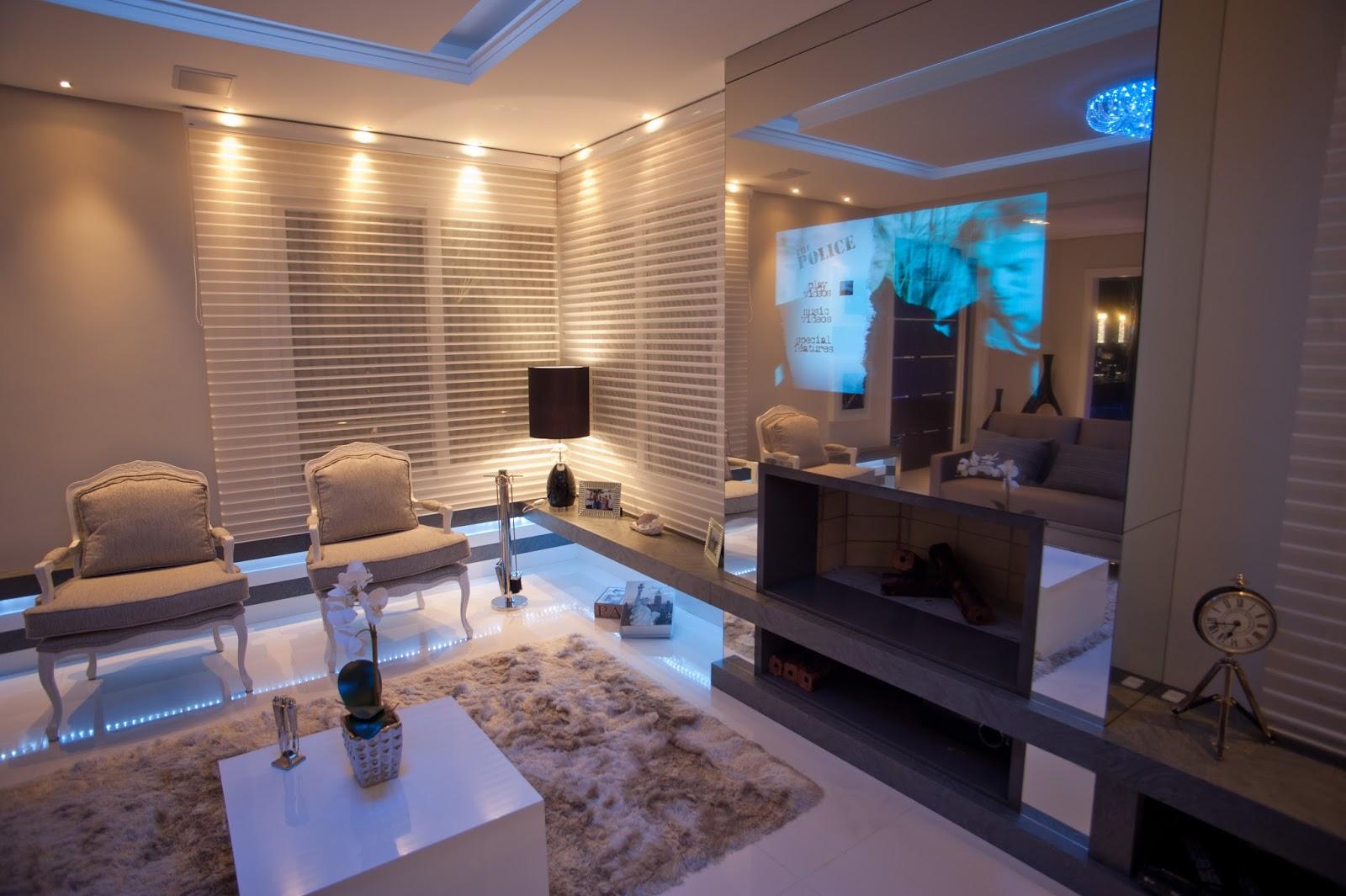 Salas De Luxo Decoradas O Amarelo Combina Com Tons Neutros Como O  -> Salas De Luxo Decoradas