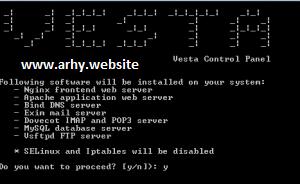 Cara Install VestaCP Pada CentOS 6 64Bit