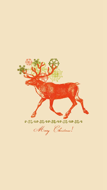 Merry Christmas 2016 Reindeer HD iPhone photos images