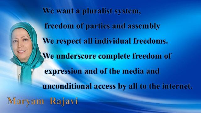 Iran-Maryam Rajavi's Ten Point Plan for Future Iran