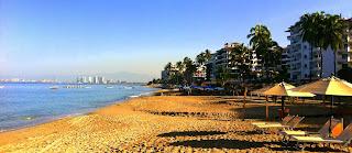 Los Muertos beach Puerto Vallarta