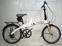 Sepeda Lipat Fold-X Nagoya 7 Speed Shimano 20 Inci