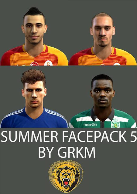 Summer Facepack PES 2013