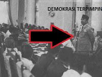 Demokrasi Terpimpin 1959-1966 (Pengertian, Periode, Kehidupan Politik, Pelaksanaan, Kebijakan, Penyimpangan)