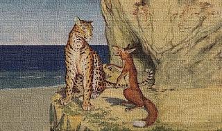 La volpe e il leopardo - Fedro