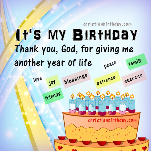 free christian birthday card happy birthday to me
