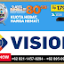 TV Kabel Dan Internet Unlimited MNC Vision - 082114578294
