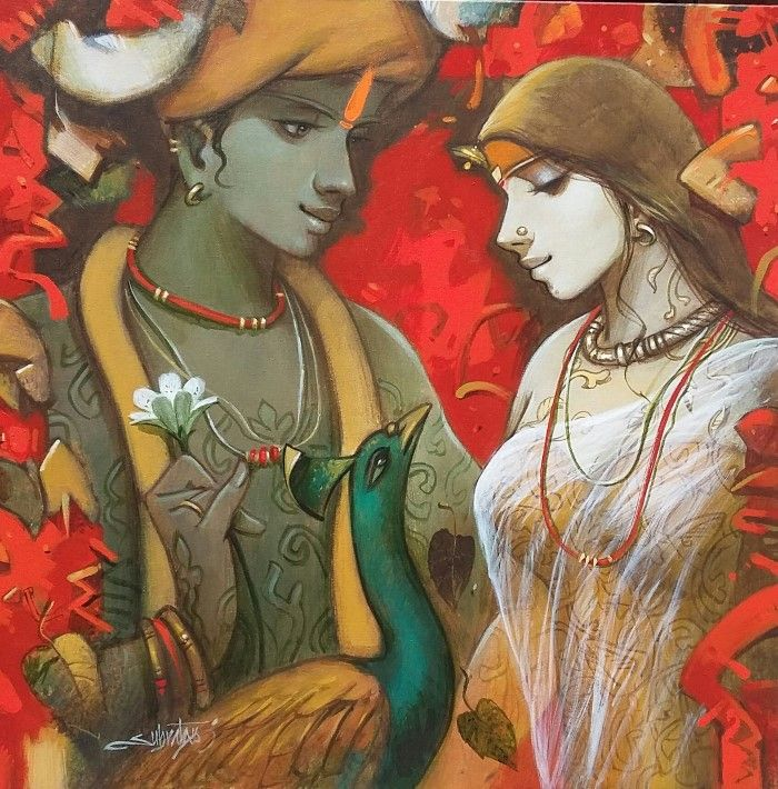 Фигуративные произведения. Subrata Das