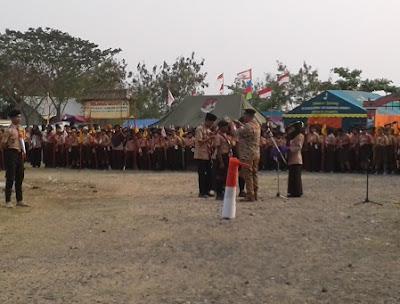 Kegiatan Jambore Ranting Kwarran Jayakerta Tahun 2018