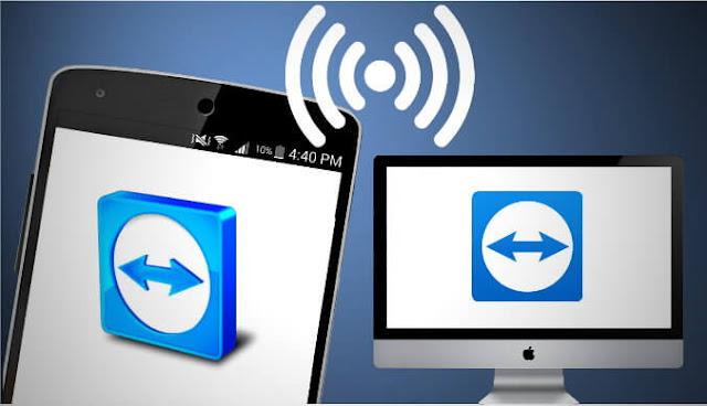 بدون كابل, يمكنك ارسال الصوروالفيديو,واستقبال الملفات بالويفي wifi,عن طريق TeamViewer, مثل برنامج shariet للكمبيوتر.لمشاركة الملفات بين الحاسوب والهاتف.