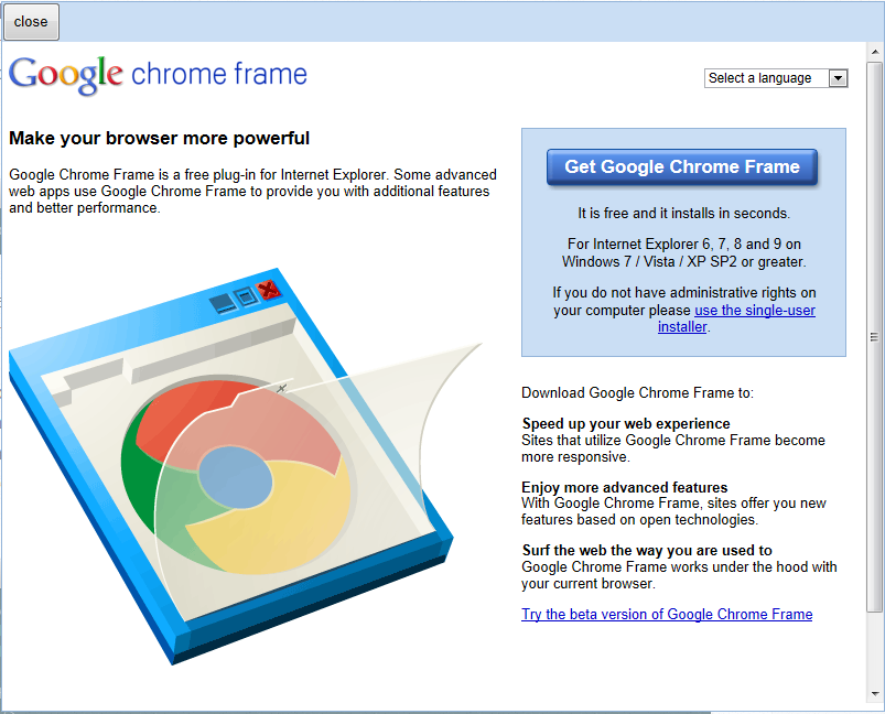 Google\'s Retiring of Chrome Frame: What it means? | Questechie