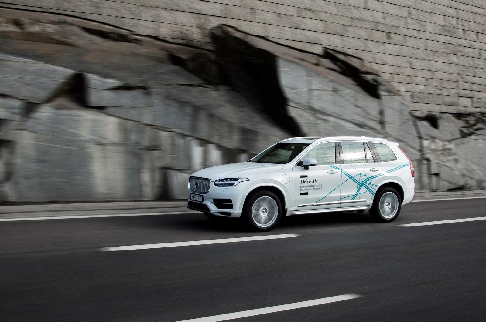 Xe tự lái của Volvo