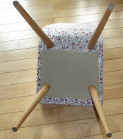renowacja krzesła z prl