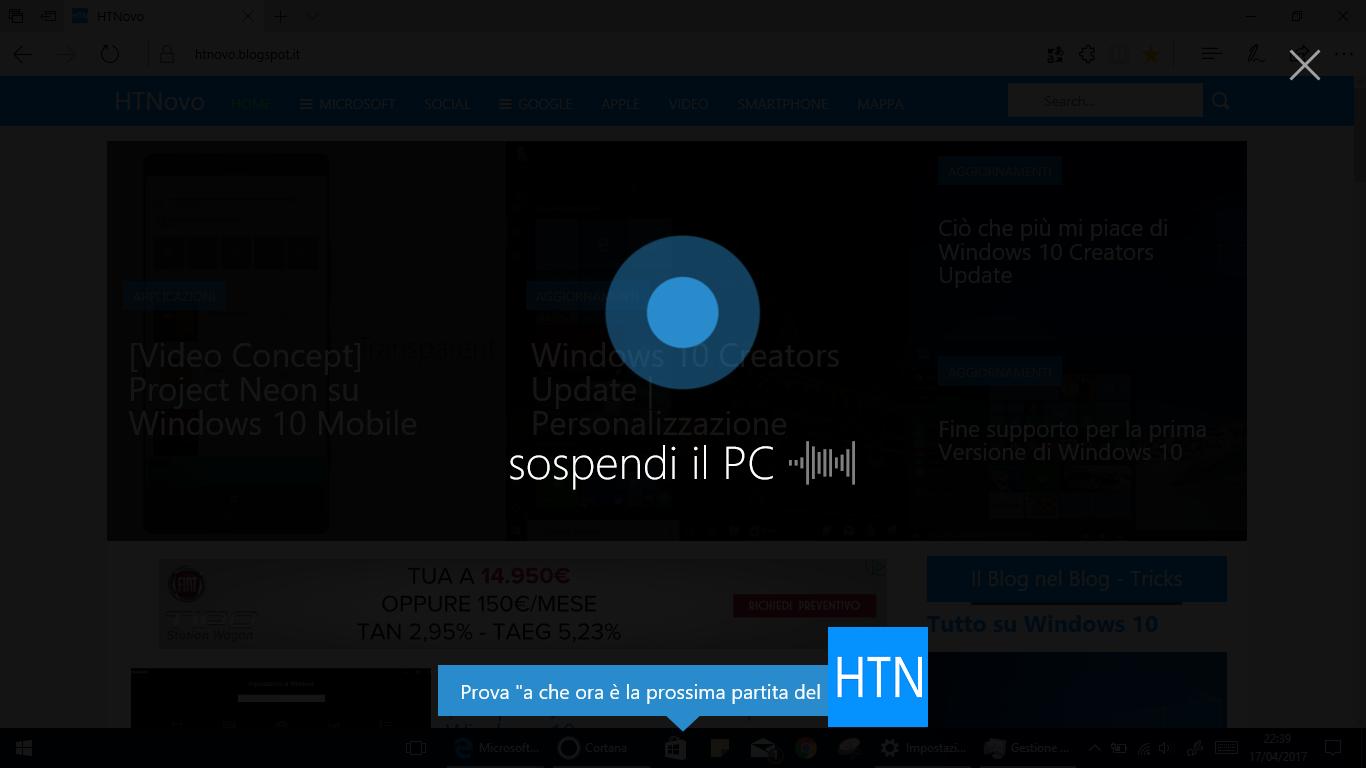 Sospendi-PC-Cortana