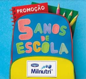 Promoção Milnutri 2018 Cinco Anos de Escola Mensalidades Pagas