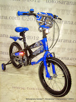 16 Inch Family Robotics Kids Bike