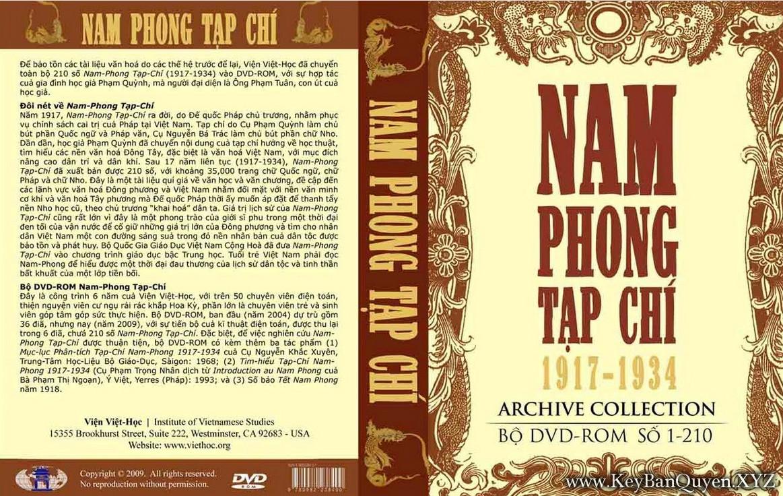 Nam Phong Tạp Chí 1917 - 1934 [PDF]